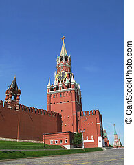 Spasskaya Tower. Moscow Kremlin