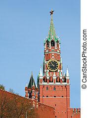 Spasskaya tower of the Kremlin