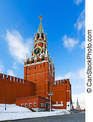 Spassky Tower of Moscow Kremlin