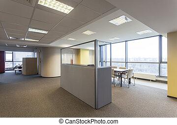 spatiös, kontor
