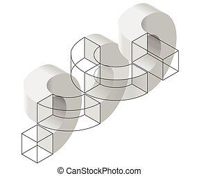 Spatial paradox, Esher's infinite staircase principle....
