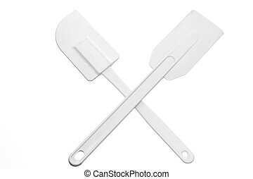 Spatula on White Background