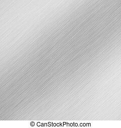 spazzolato, alluminio