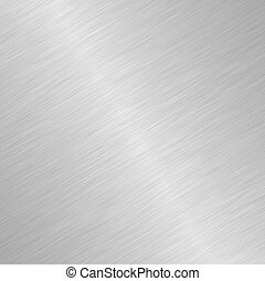 spazzolato, disegno, metallo