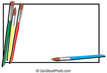spazzole, illustrazione