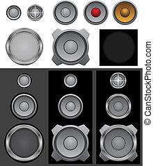 Speaker basic - The music audio speakers and lattices...