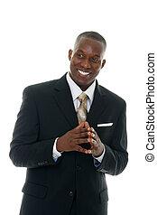 speaker-black, suit4, mannelijke