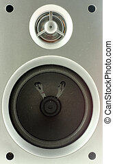 speaker box close-up