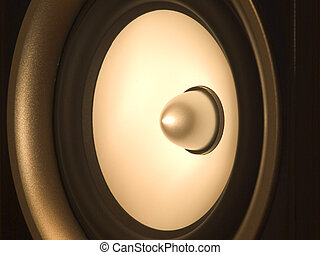Speaker - Close up of speaker