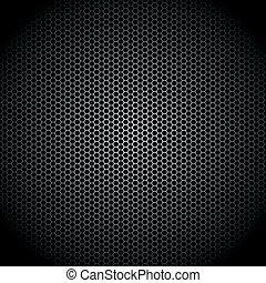 Speaker grille - Vector illustration of a speaker grille