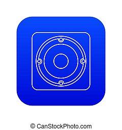 Speaker icon blue