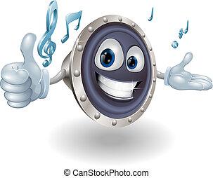Speaker mascot