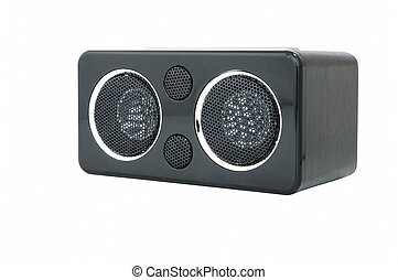 Speaker - Minispeaker. Audio box for mobile phones and...