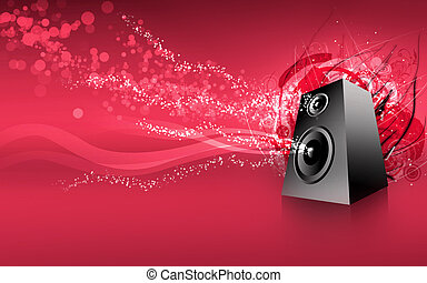 speaker red super