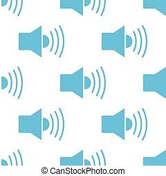 Speaker seamless pattern