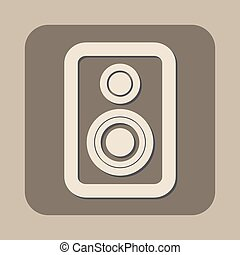 speaker vector icon