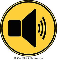 Speaker volume button.