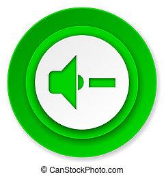 speaker volume icon, music sign
