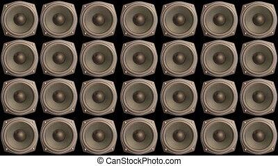 Speaker Wall One