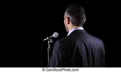speaker with microphone