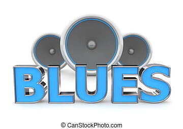Speakers Blues - Blue