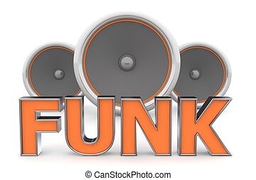 Speakers FUNK ? Orange