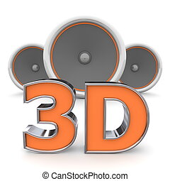 Speakers MP3 - 3D