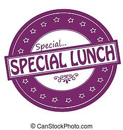 speciální, oběd