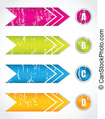 special arrow stickers