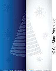 special blue Christmas banner