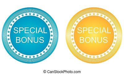 special bonus buttons