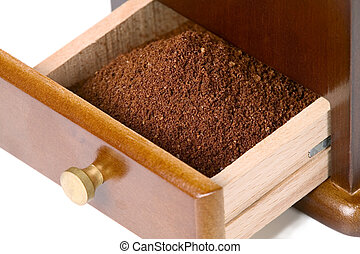 Special box for coffee