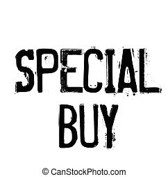 special buy rubber stamp