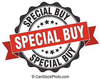 special buy stamp. sign. seal