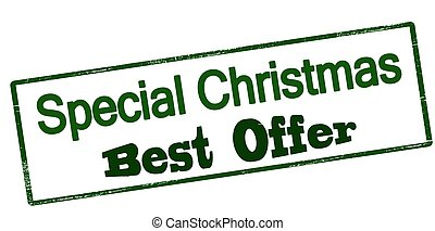 Special Christmas best offer