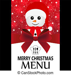 Special Christmas menu
