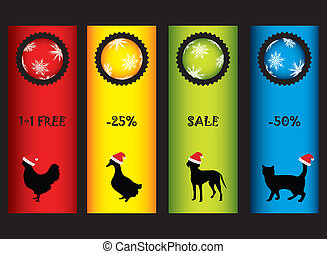 special Christmas price tags