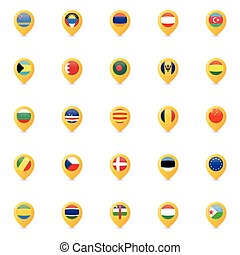 Special Country flags
