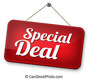 special deal - Deals great special sales offer