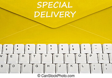 Special delivery message