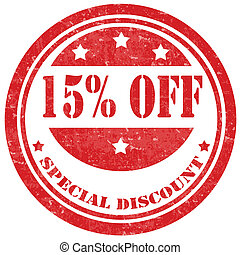 Special Discount-stamp