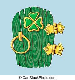 special door hanger for St. Patrick s Day