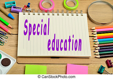 Special education words