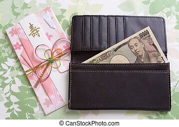 Special envelope for monetary gifts