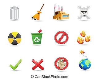 special icon for eco design