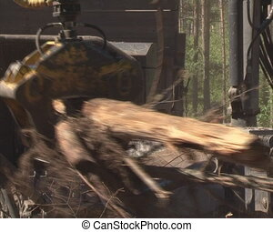 carve tree branch - Special machinery carve tree branches....