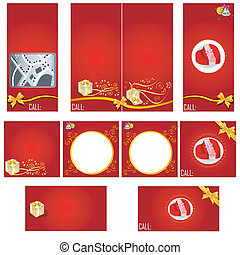 Special occasion stationary template - brochure design, CD...
