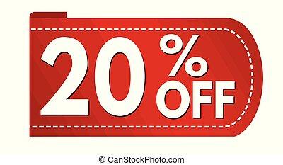 Special offer 20 % off banner design