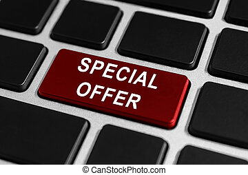 special offer button on keyboard