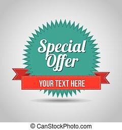 special offer design, vector illustration eps10 graphic
